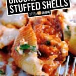 Ground Turkey Stuffed Shells | Stress Baking
