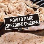 How to Make Shredded Chicken | Stress Baking