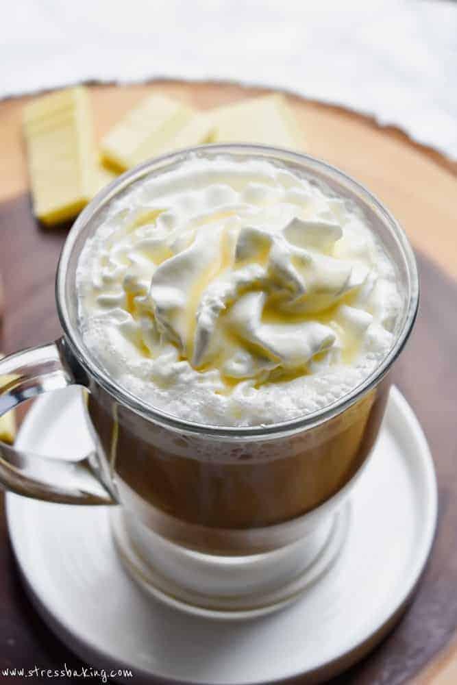 Copycat Starbucks White Chocolate Mocha
