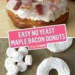 Easy Maple Bacon Donuts | Stress Baking