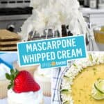 Stabilized Mascarpone Whipped Cream Frosting | Stress Baking