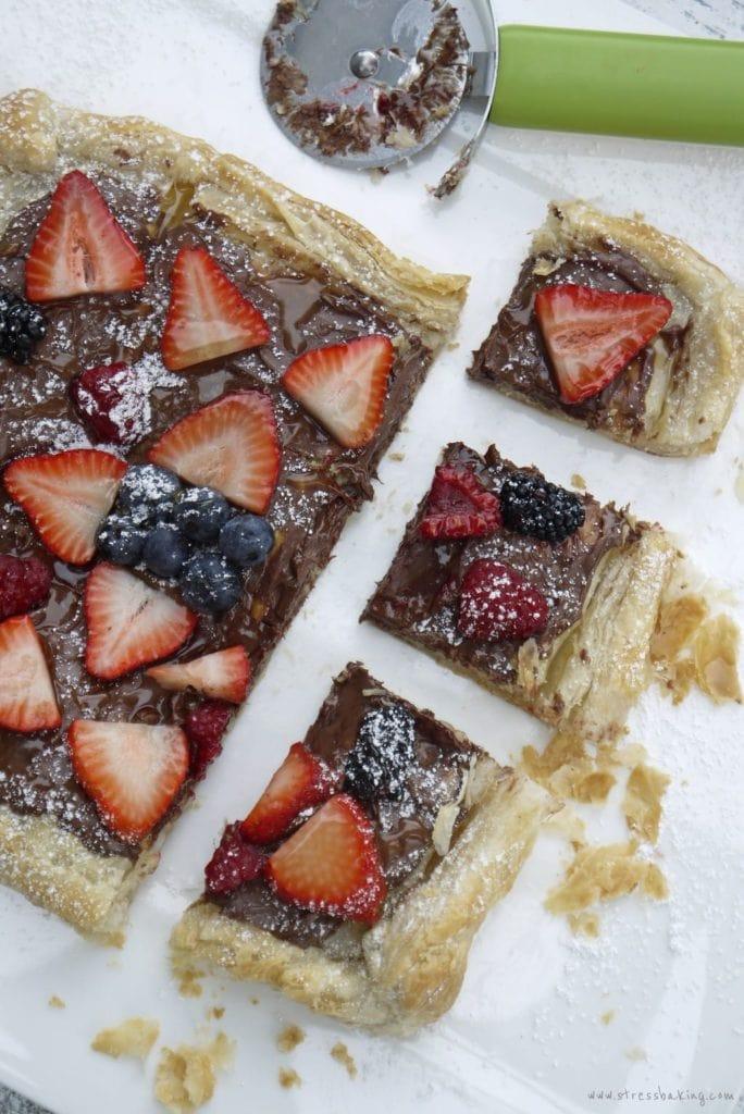 Nutella Fruit Tart
