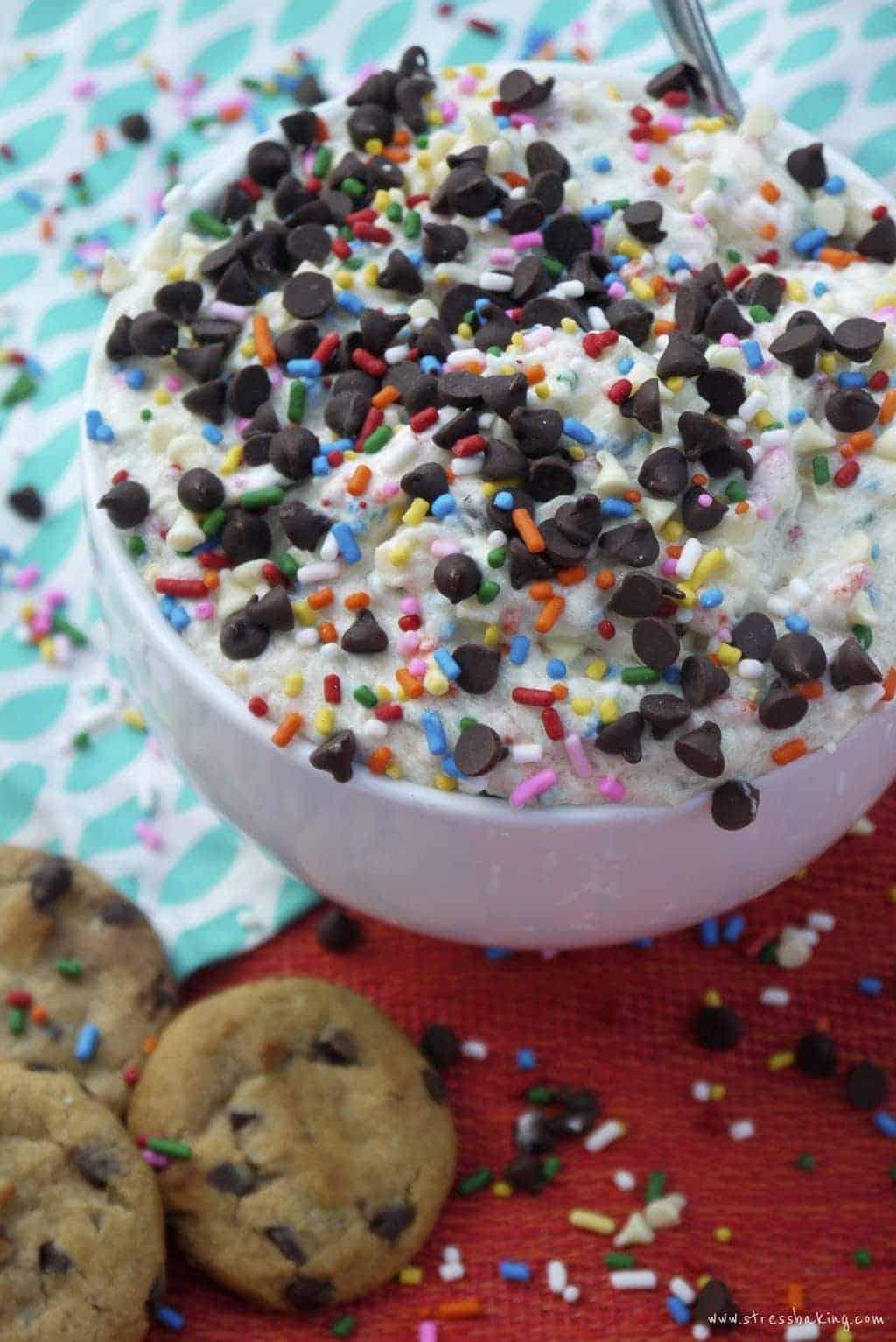 Funfetti Eggless Cookie Dough