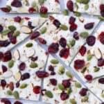 Cranberry White Chocolate Bark