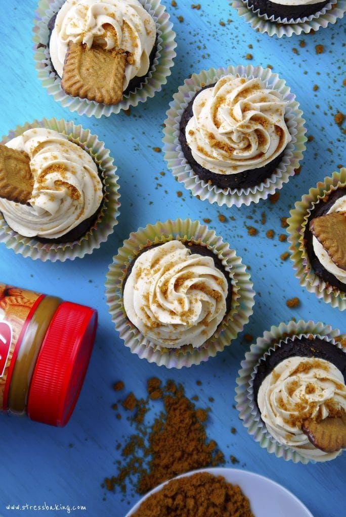 Chocolate Zucchini Cupcakes with Cookie Butter Frosting ...