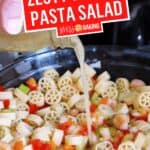 Shrimp Pasta Salad | Stress Baking