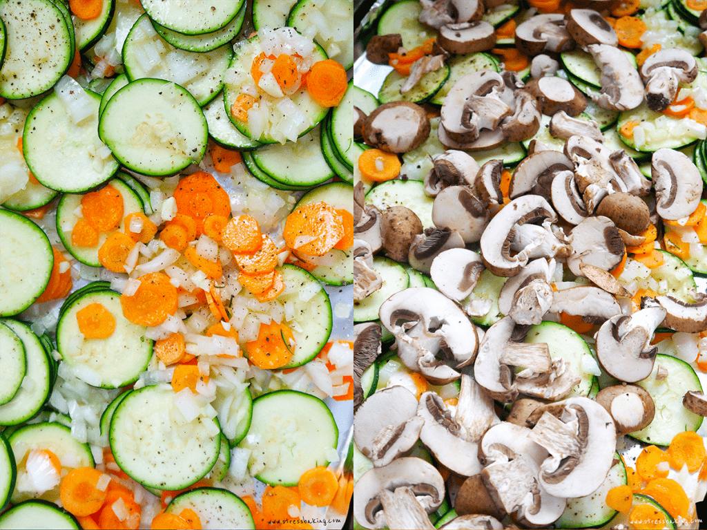 Mixed veggie prep