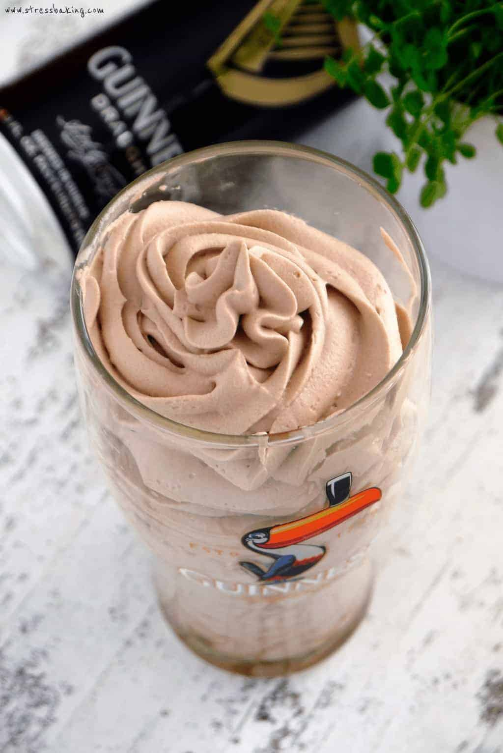 Chocolate Guinness Whipped Cream