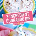 Dunkaroo Dip | Stress Baking