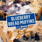 Blueberry Muffin Bread | Stress Baking