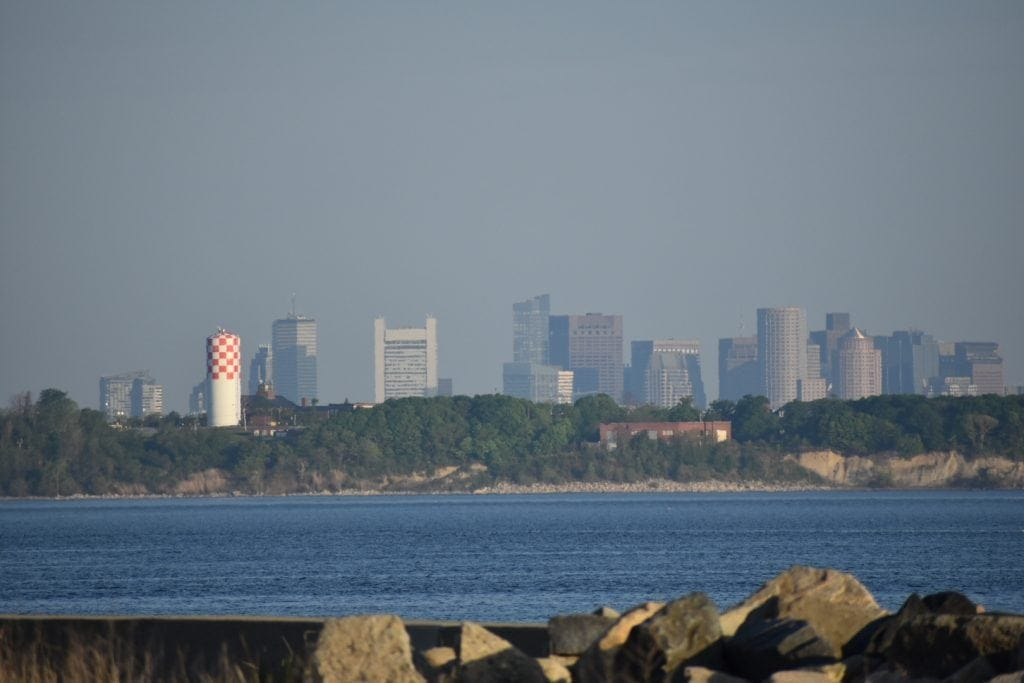 Boston behind Long Island