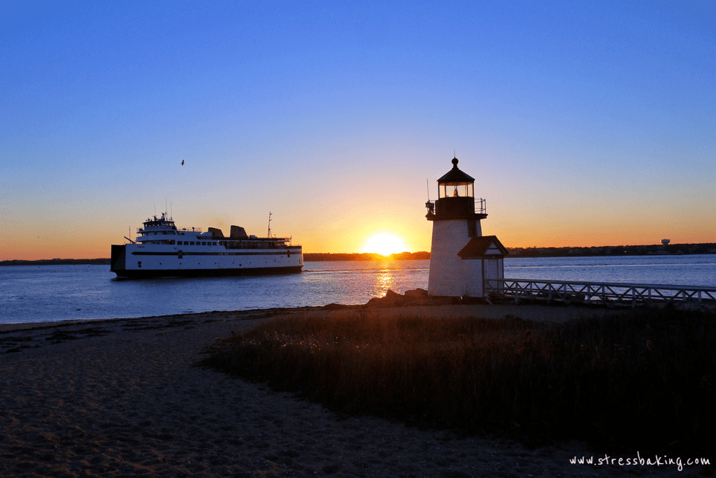 Sunrise over Brant Point Light
