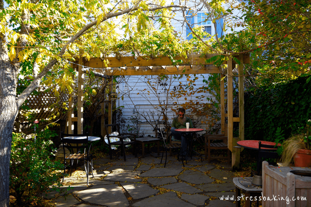 Handlebar Cafe secret garden