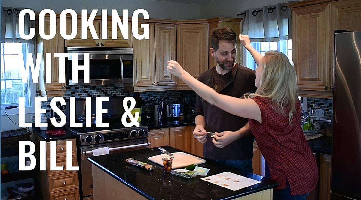 Cooking with Leslie & Bill