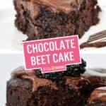 Chocolate Beet Cake | Stress Baking