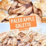 Paleo Apple Galette | Stress Baking