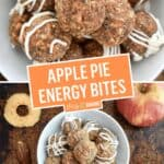 Apple Pie Energy Bites | Stress Baking