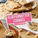 Fluffernutter Cookies | Stress Baking