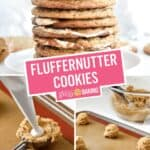 Fluffernutter Cookies | Stress Baking