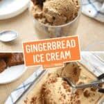 Gingerbread Ice Cream | Stress Baking