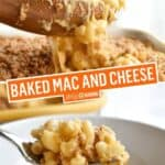 Baked Mac and Cheese | Stress Baking