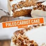 Paleo Carrot Cake (DF | GF | Paleo) | Stress Baking