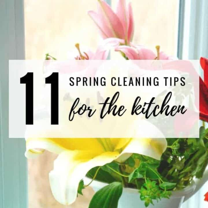 11 Spring Cleaning Tips for the Kitchen