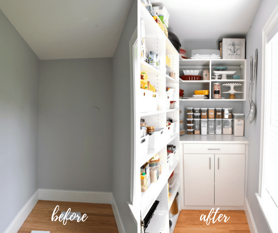 California Closets Pantry Reveal Stress Baking