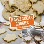 Maple Sugar Cookies | Stress Baking