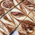 White Chocolate Cinnamon Roll Bark