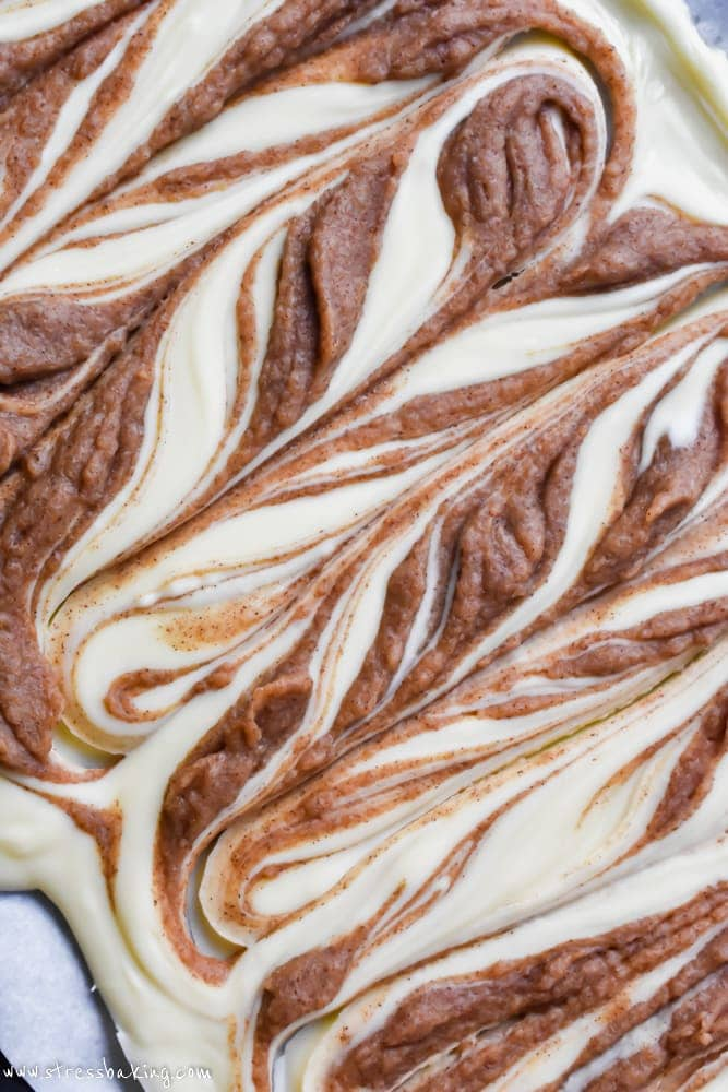 White Chocolate Cinnamon Roll Bark