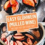 Instant Pot Glühwein (Mulled Wine) | Stress Baking