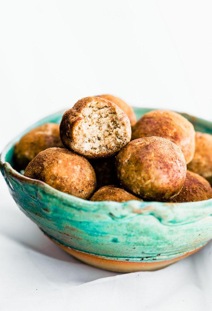 Cinnamon Vanilla Protein Breakfast Bites by Cotter Crunch