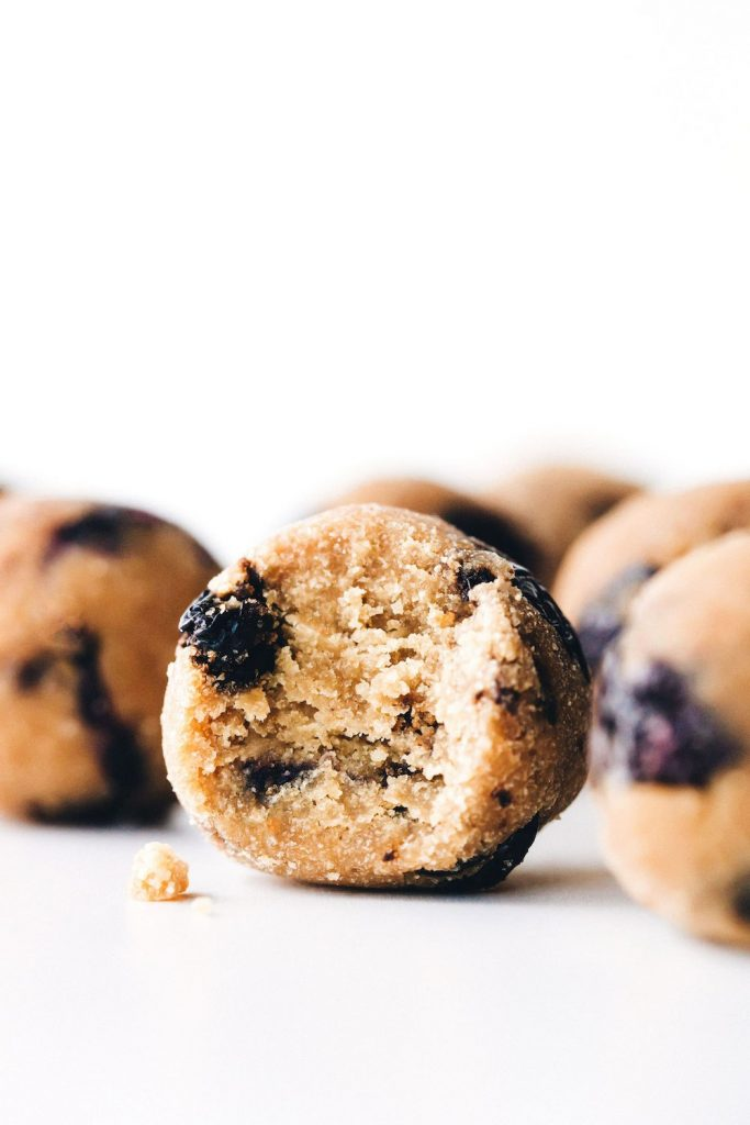 Blueberry Muffin Bites by Feasting on Fruit