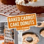 Baked Carrot Cake Donuts | Stress Baking