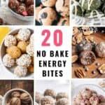 20 Easy No-Bake Energy Bite Recipes