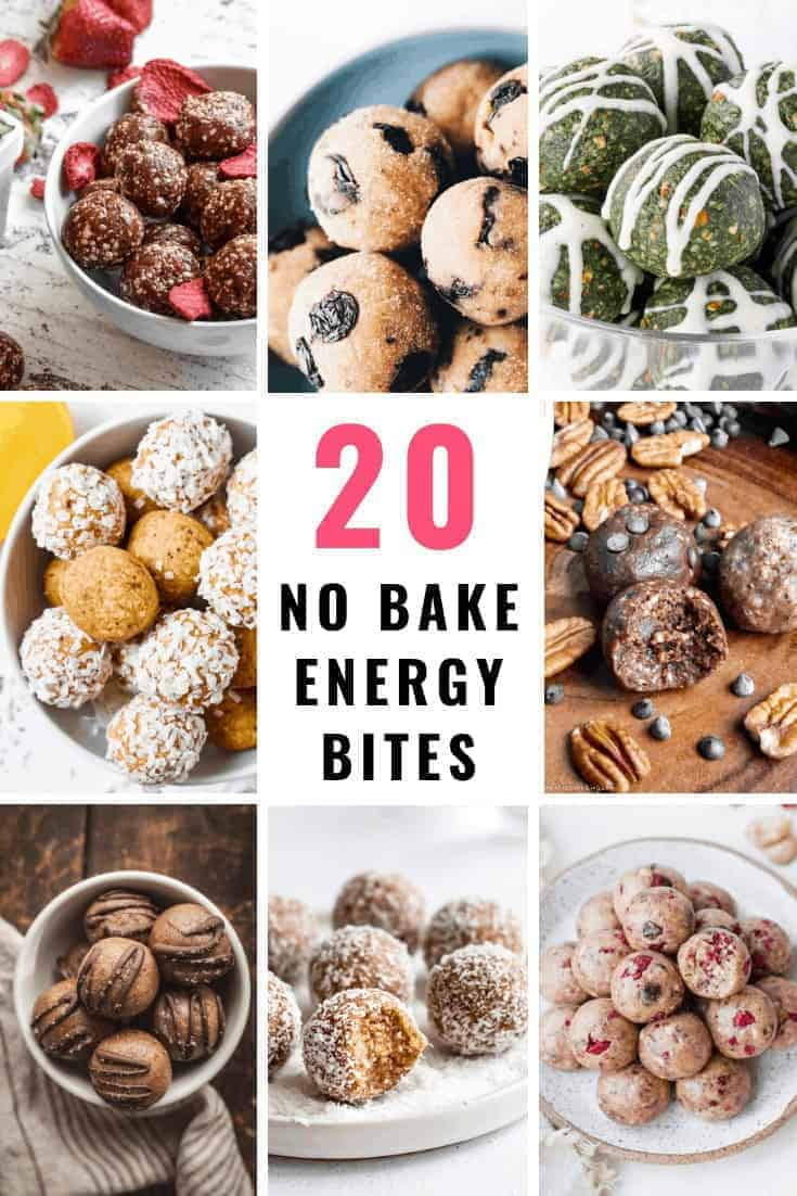 20 Easy No-Bake Energy Bite Recipes