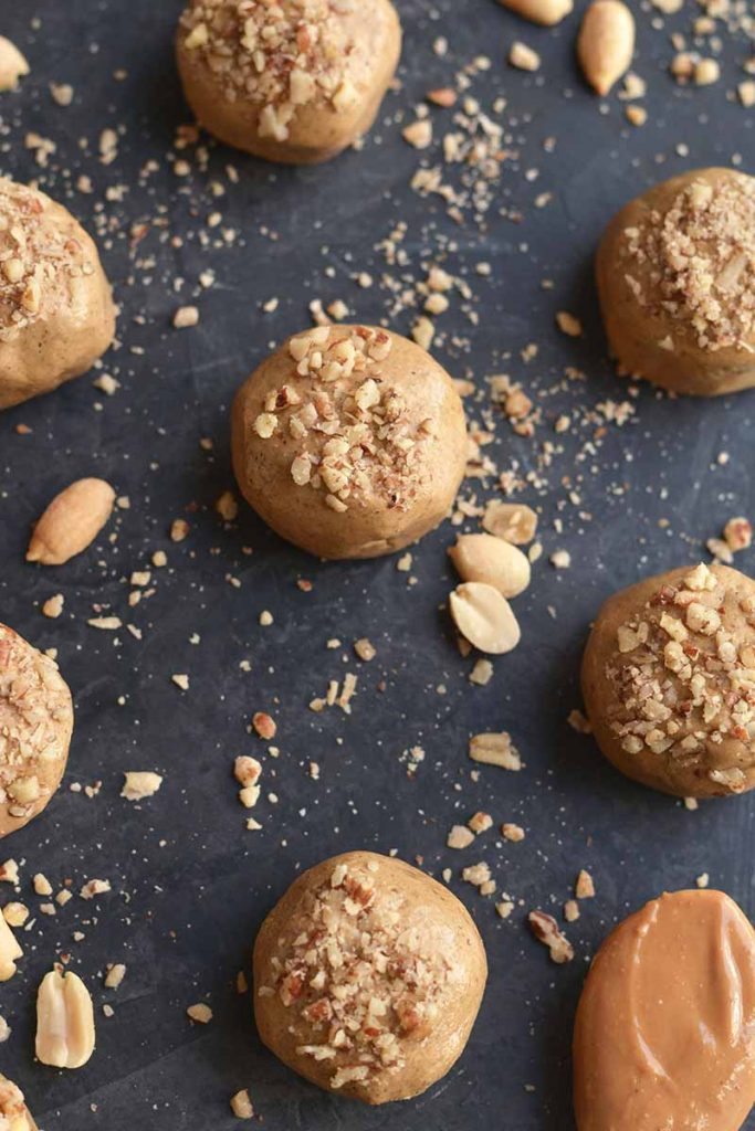 Peanut Butter Protein Balls by Diabetes Strong
