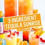 Tequila Sunrise | Stress Baking