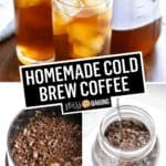 Homemade Cold Brew Coffee | Stress Baking