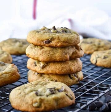 Soft and Chewy Pumpkin Chocolate Chip Cookies