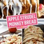 Apple Strudel Monkey Bread | Stress Baking