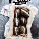 Chocolate Whoopie Pies | Stress Baking