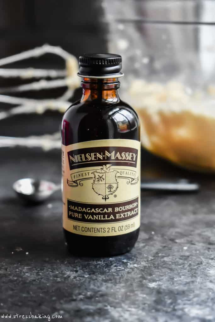Bottle of Nielsen-Massey Pure Vanilla Extract