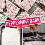 4-Ingredient Peppermint Bark | Stress Baking