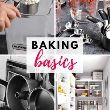 The Baking Basics Series on StressBaking.com