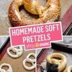 Easy Homemade Soft Pretzels | Stress Baking