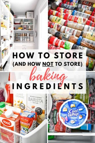 How to Store (and How Not To Store) Baking Ingredients