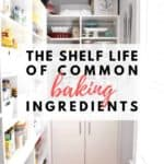 The Shelf Life of Common Baking Ingredients