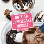 Nutella Cheesecake Mousse | Stress Baking